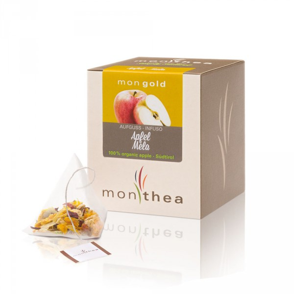 Apfel Mongold Teebeutel Bio
