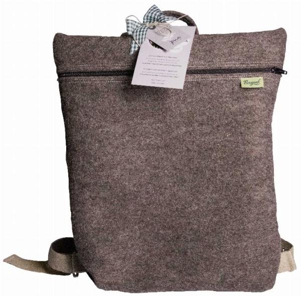 Rucksack aus Wolle - Bergauf