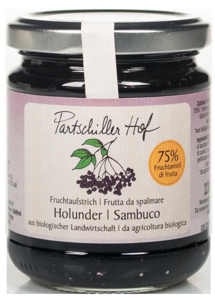 Holunderbeere Bio Fruchtaufstrich - Partschillerhof