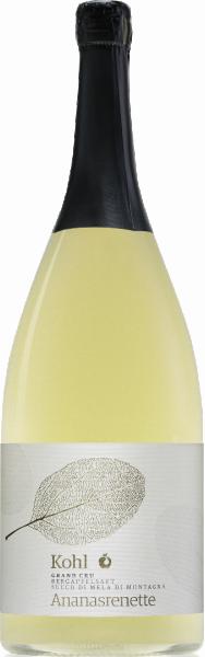 Succo di mela di montagna Ananasrenette Gran Cru - Kohl Bergapfelsäfte