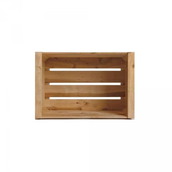 Große Kiste Apfelbaumholz - Pur Manufactur
