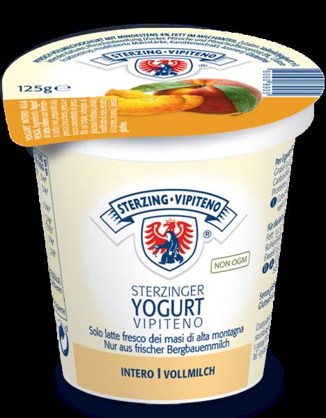 Pesca Yogurt intero - Milchhof Sterzing