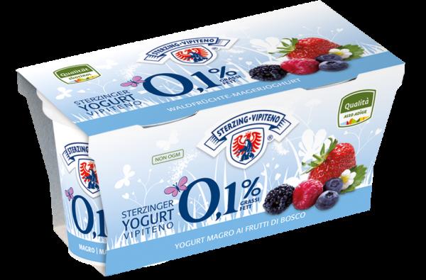 Waldfrüchte Magerjoghurt - Milchhof Sterzing