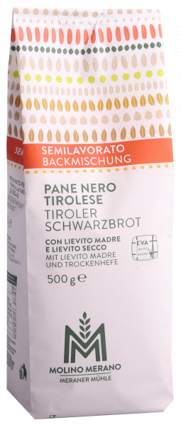 Miscela per pane nero tirolese - Meraner Mühle