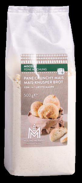 Miscela per pane crunchy mais - Meraner Mühle