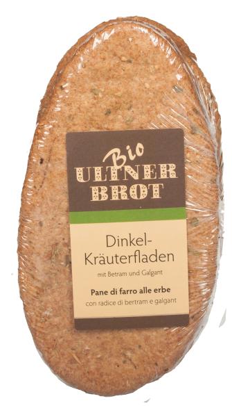 Pane croccante al Farro con Erbe Bio
