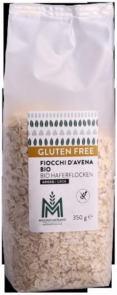 Haferflocken grob glutenfrei Bio - Meraner Mühle