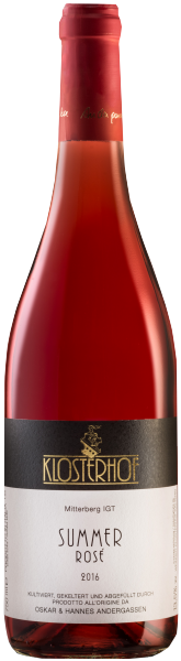 """Blauburgunder Rosé """"Summer"""" 2017"""