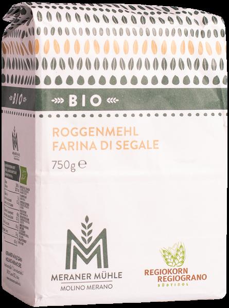 Farina di segale Regiograno Bio - Meraner Mühle