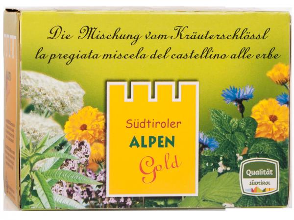 Kräutertee Alpengold Teebeutel Bio - Südtiroler Kräutergold