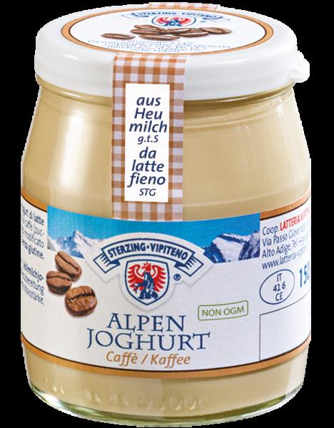 Kaffee Alpenjoghurt - Milchhof Sterzing