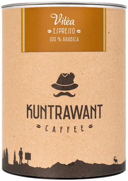 Espresso 100% Arabica Vitea gemahlen - Kuntrawant