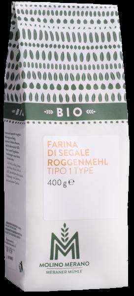 Farina di segale tipo 1 Bio - Meraner Mühle