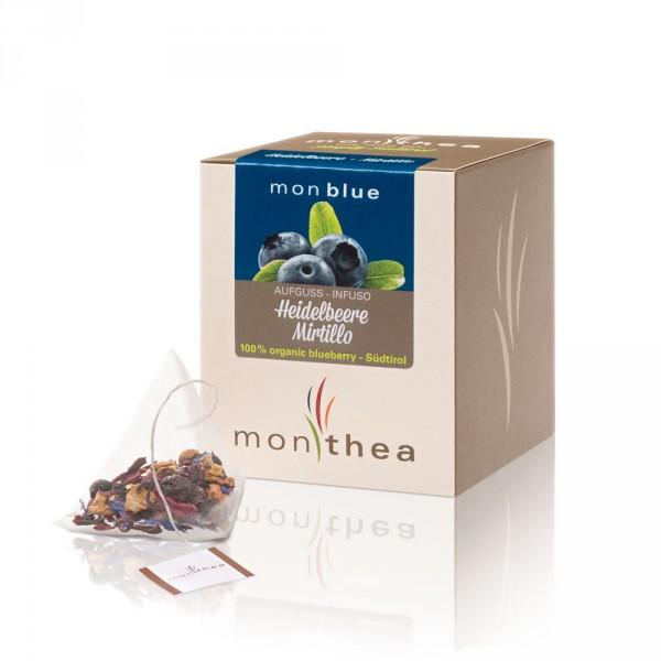 Heidelbeere Monblue Teebeutel Bio - Monthea