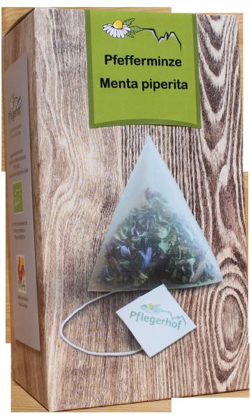 Tisana Menta piperita bustine a piramide Bio