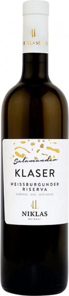 "Weißburgunder Riserva ""Klaser Salamander"" 2017 - Weingut Niklas"