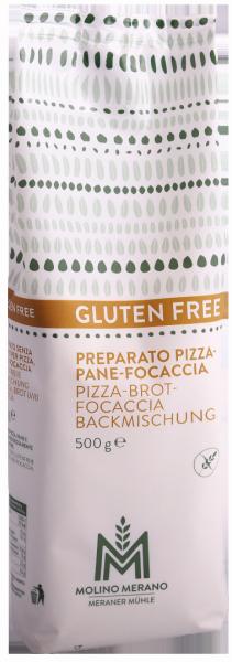 Miscela per Pizza-Pane-Focaccia senza glutine - Meraner Mühle