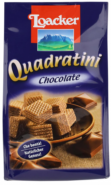 Quadratini Chocolate - Loacker