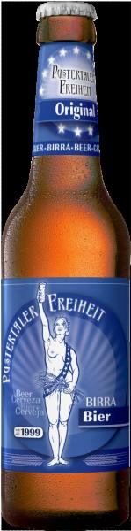 Original Birra chiara Lager - Pustertaler Freiheit
