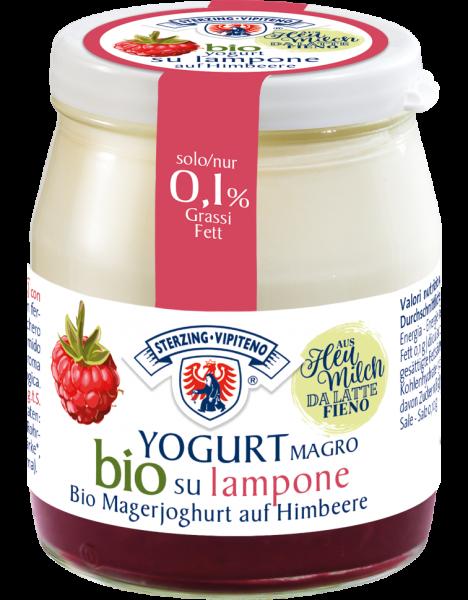 Magerjoghurt auf Himbeere Bio - Milchhof Sterzing