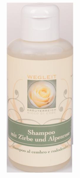 Shampoo mit Zirbe und Alpenrose - Kräuterreich Wegleit