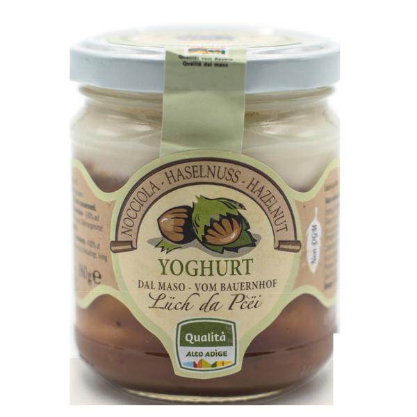 Haselnuss-Joghurt vom Bauernhof