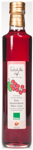 Sciroppo di Ribes rosso Bio - Partschillerhof