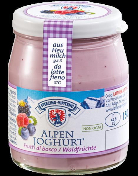 Waldfrüchte Alpenjoghurt - Milchhof Sterzing