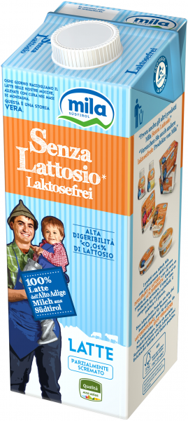 Latte UHT senza lattosio - Mila Bergmilch