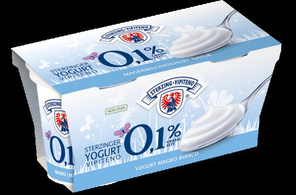 Natur Magerjoghurt - Milchhof Sterzing