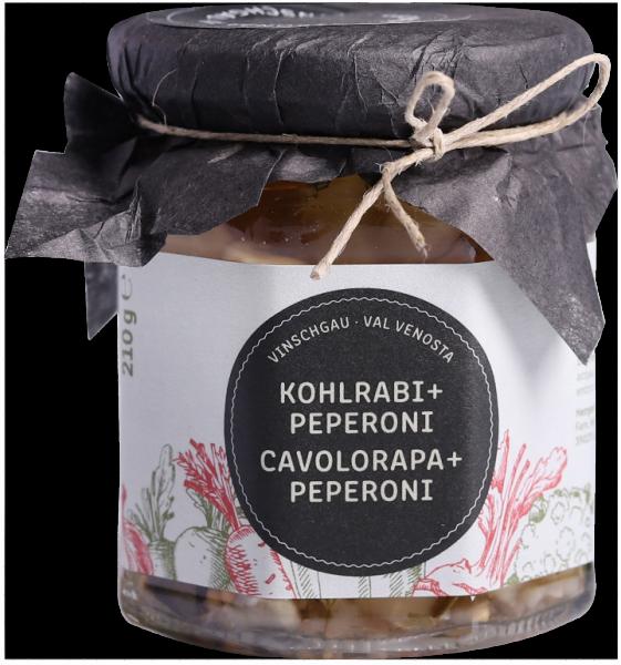 Vinschger Kohlrabi und Peperoni - Lechner Herbert
