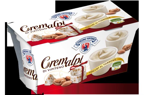 Torrone yogurt Cremalpi