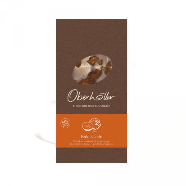Feinbitterschokolade mit Kaki