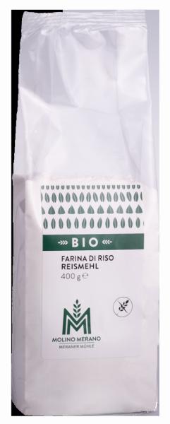 Farina di riso senza glutine Bio - Meraner Mühle
