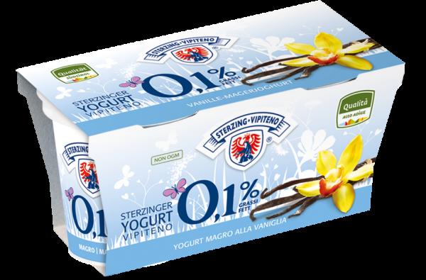 Vanille Magerjoghurt - Milchhof Sterzing