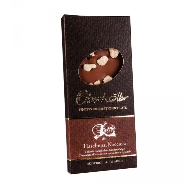 Schokolade mit Haselnuss