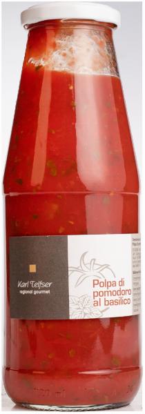 Tomatensauce mit Basilikum - Karl Telfser