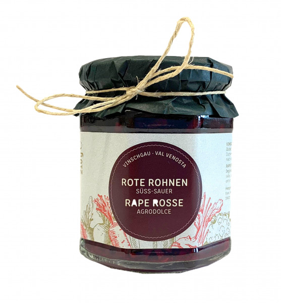 """Rote Rohnen """"Süß-Sauer"""" - Lechner Herbert"""