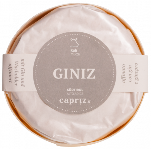 "Formaggio molle ""GINiz"" di latte vaccino - Capriz Feinkäserei"