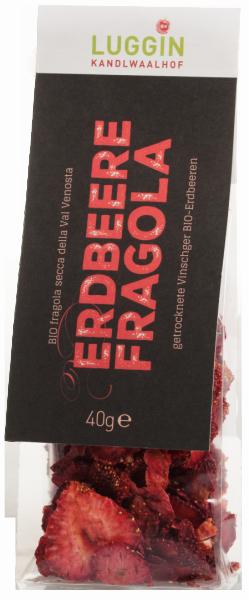 Fragole essiccate venostane Bio - Luggin