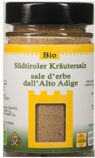 Südtiroler Kräutersalz Bio - Südtiroler Kräutergold