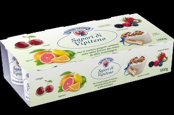 Vollmilchjoghurt Früchte Zitrus - Milchhof Sterzing