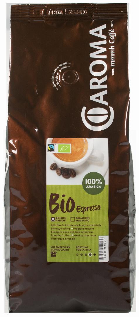 Arabica Bio Bohnen Caroma Kaffee Kaufen Pur Sudtirol