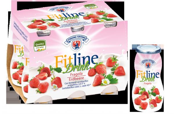 Drink fragola FitLine - Milchhof Sterzing