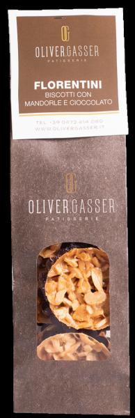 Biscotto con mandorle e cioccolato - Bäckerei Gasser