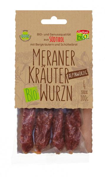 Kaminwurzen Erbe alpine Bio - Galloni Meran/o