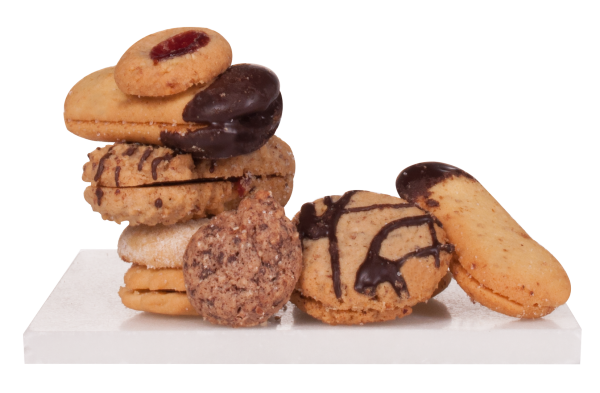 Gemischte Kekse