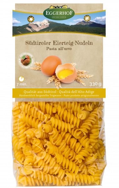 Fusilli all'uovo - Eggerhof