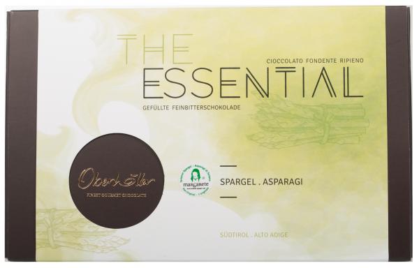 """Gefüllte Feinbitterschokolade The Essential """"Spargel"""""""