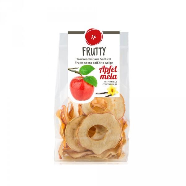 Getrocknete Äpfel mit Vanille